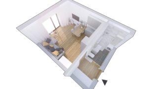 Квартира в Праге, Чехия, 32.9 м2