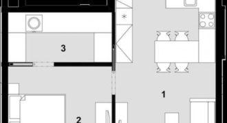 Квартира в Праге, Чехия, 56 м2