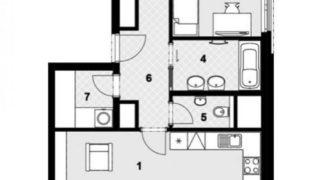 Квартира в Праге, Чехия, 90 м2