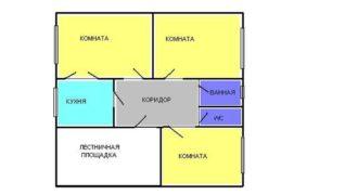 Квартира в Пюсси, Эстония, 57.9 м2