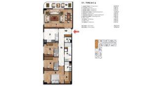 Квартира в Стамбуле, Турция, 69 м2