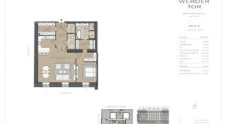 Квартира в Вене, Австрия, 108.58 м2