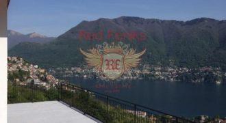 Вилла у озера Комо, Италия, 300 м2