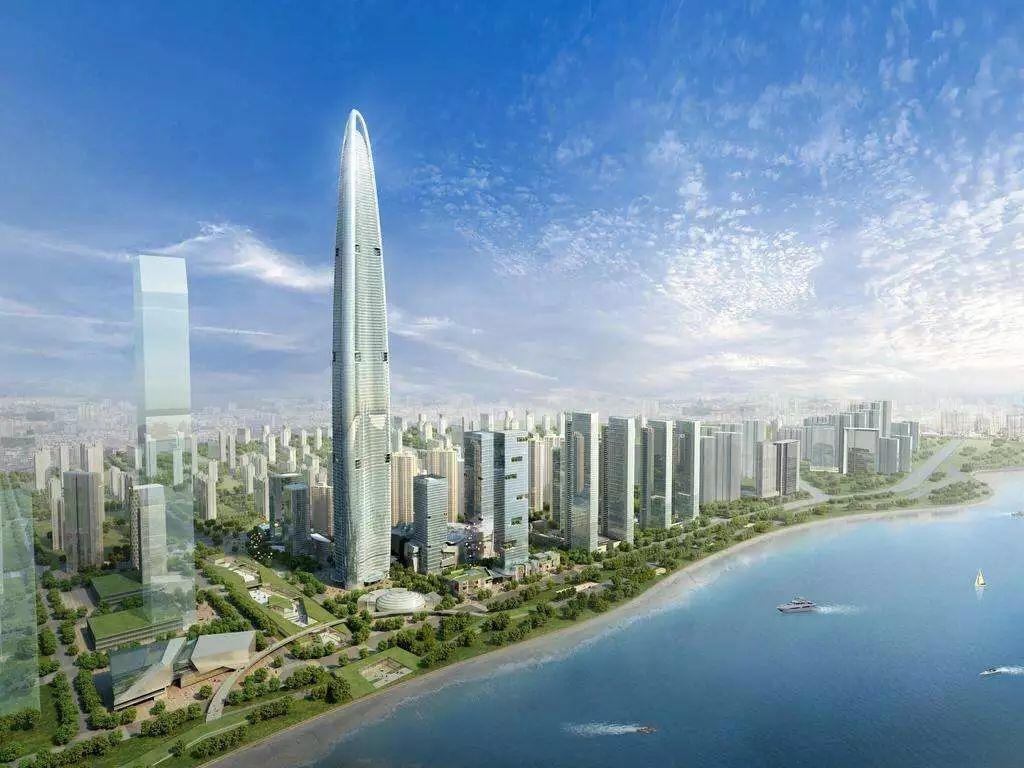 В Китае сорвалось строительство небоскребов