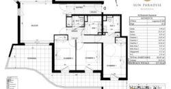 4-комнатные апартаменты B 204 в новостройке Sun Paradise в Босолей