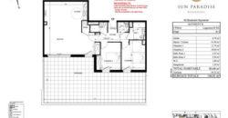 3-комнатные апартаменты B 502 в новостройке Sun Paradise в Босолей