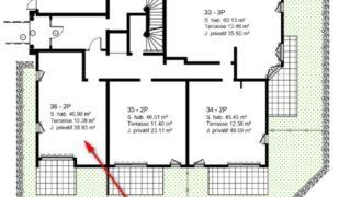 Квартира на этаже сада коттеджа Betiment  1  в новостройке Parc Bellevue