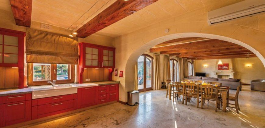 Шикарный дом на Гозо Сан Лоуренц. Мальта