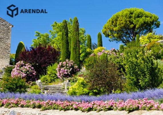 Франция: взять сад в аренду