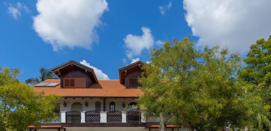 Bavarian Style House in Ra'anana Israel
