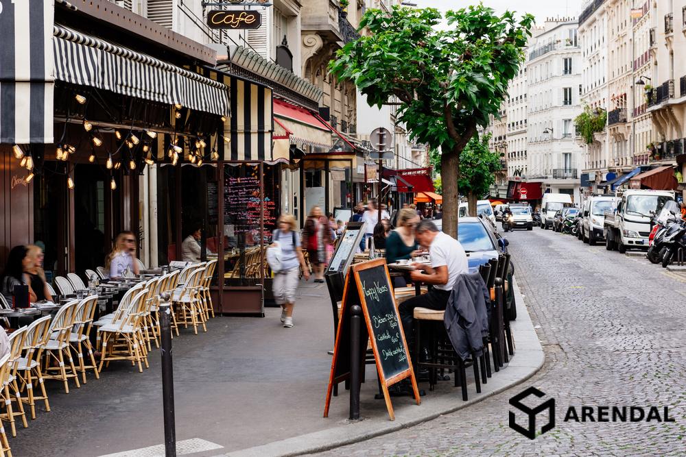 Уровень уличного шума в Париже