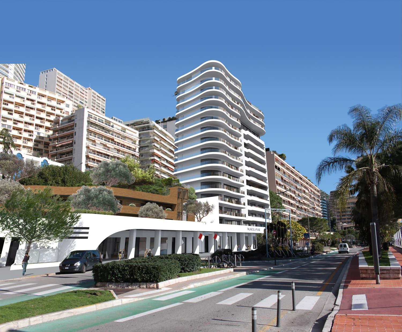 Монако: завершено строительство жилого комплекса Palais de la Plage