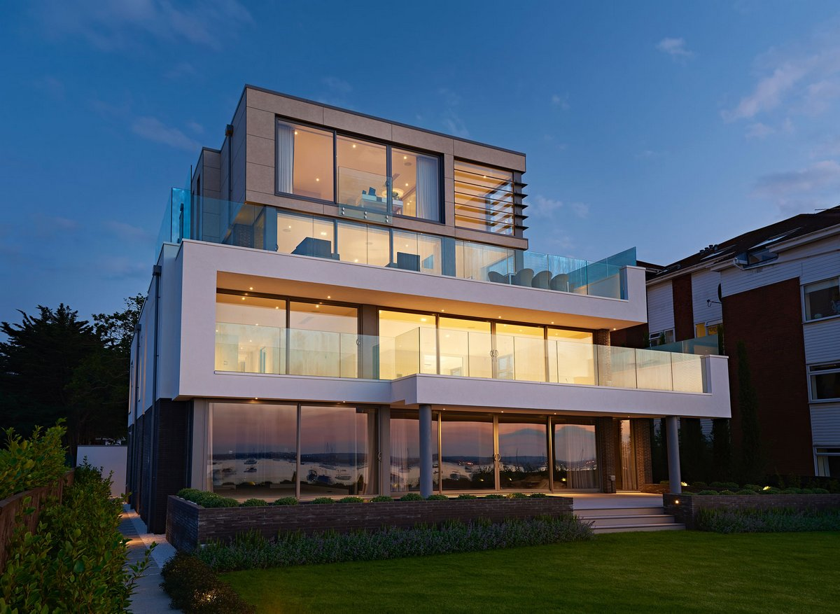 Взгляд на современную архитектуру домов завтрашнего дня