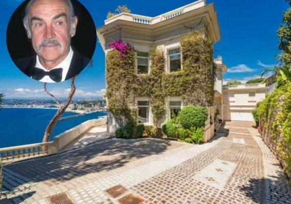 Як виглядає вілла Шона Коннері на Французькій Рив'єрі за $ 35 млн