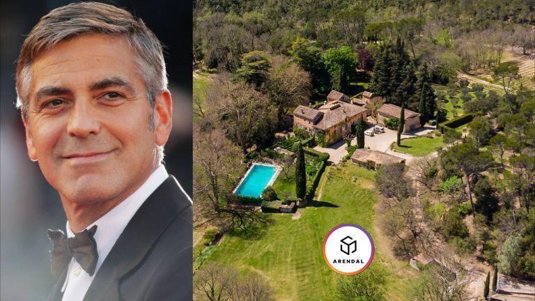 Джордж Клуни будет жить в Бриньоле