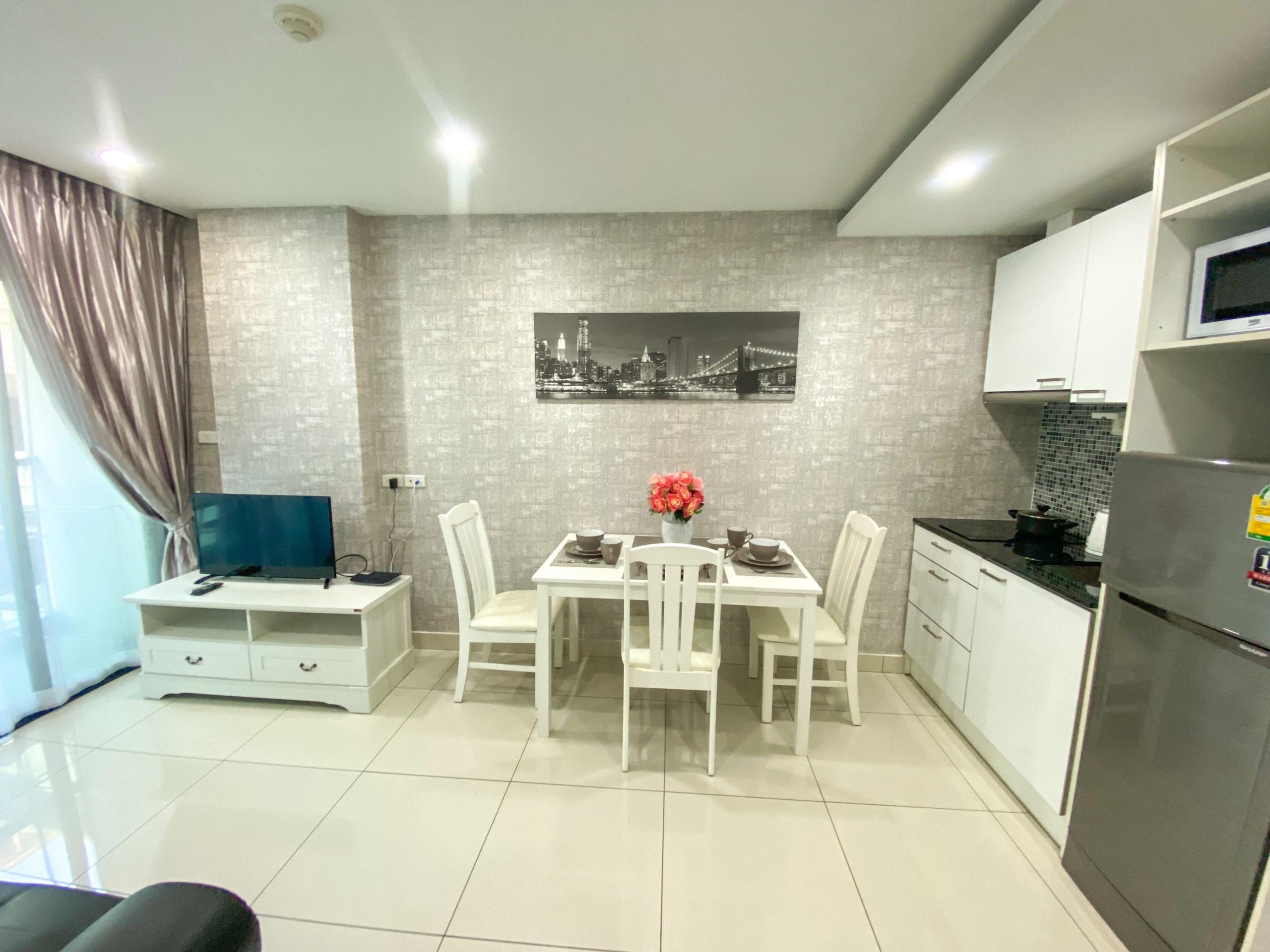 Продаётся новая, односпальная квартира, от финского застройщика, площадью 36 кв м, в Таиланде (г.Паттайя).